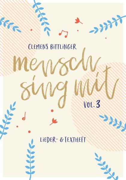 Notenheft - Mensch sing mit 3