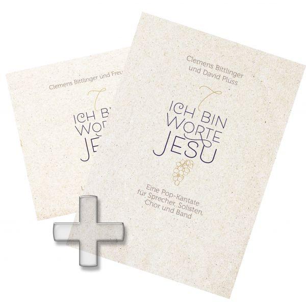 """Paket """"Ich bin - Worte Jesu"""" - CD und Notenheft"""