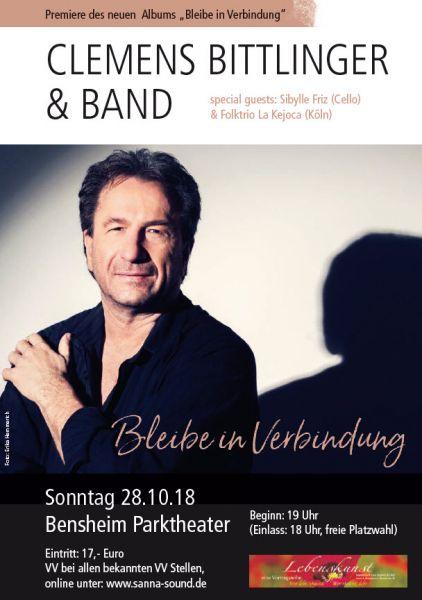 """Eintrittskarte zur CD Präsentation """"Bleibe in Verbindung"""" in Bensheim"""