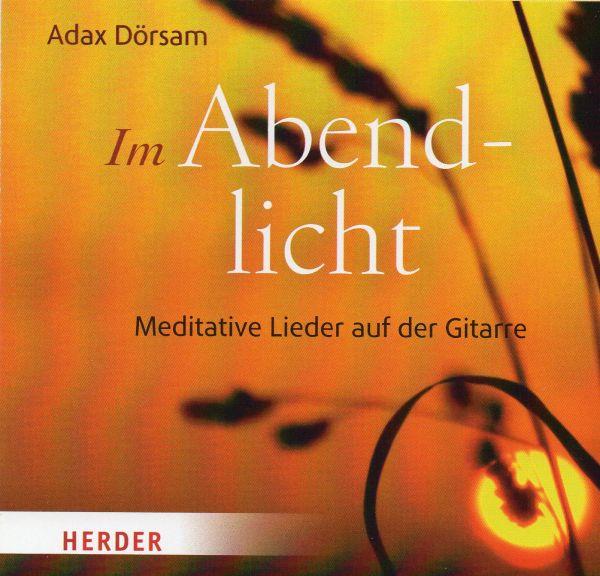 CD - Abendlicht von Adax Dörsam