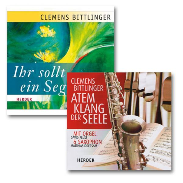 """2er CD-Paket - """"Atem Klang der Seele"""" und """"Ihr soll ein Segen sein"""""""