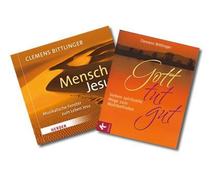 """Paket - CD """"Mensch Jesus"""" + Buch """"Gott tut gut"""""""