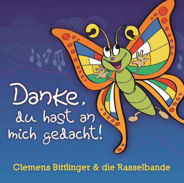 "Kinder-CD Paket ""Danke"" (CD+Noten)"