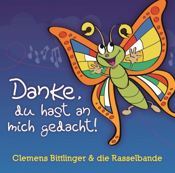 "Kinder-CD Paket ""Danke"" (CD+Noten)"
