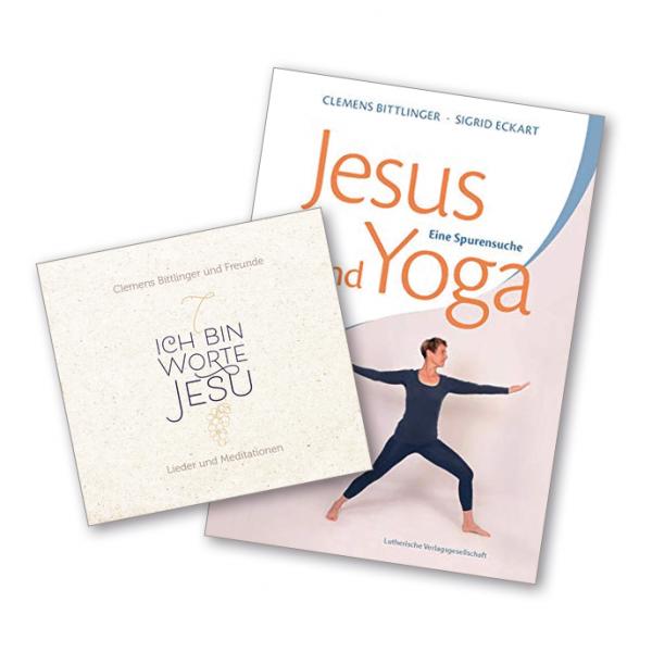 """Paket CD """"Ich bin"""" + Buch """"Jesus und Yoga"""""""