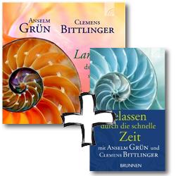 """Paket - CD """"Langsam durch die schnelle Zeit"""" + Buch """"Gelassen durch die schnelle Zeit"""""""