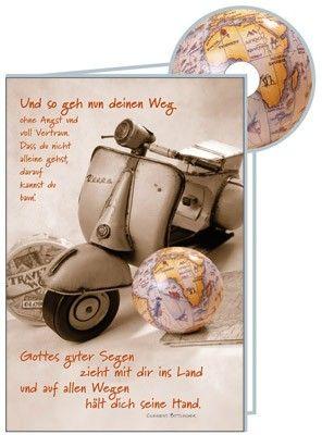 CD-Karte - Und so geh nun Deinen Weg (Variante: Vespa)