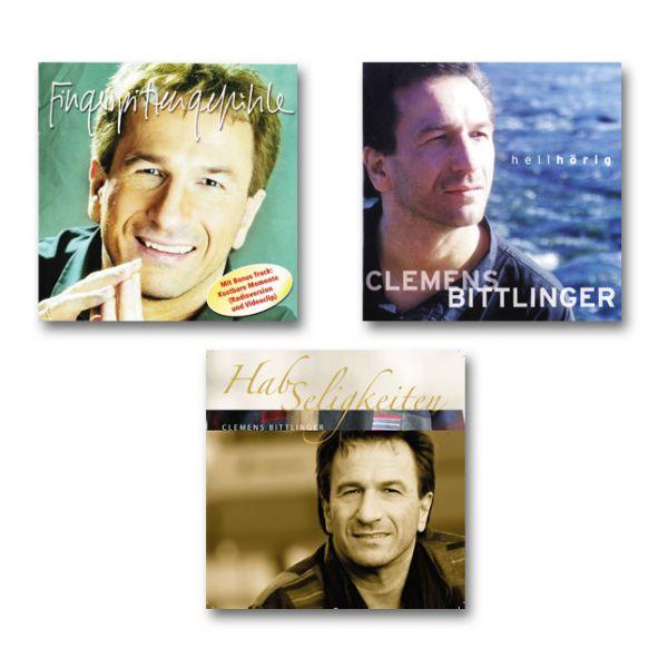 """3er CD-Paket - """"Hellhörig"""", """"Fingerspitzengefühl"""" und """"HabSeligkeiten"""""""