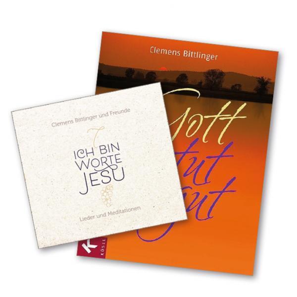 """Paket CD """"Ich bin"""" + Buch """"Gott tut gut"""""""