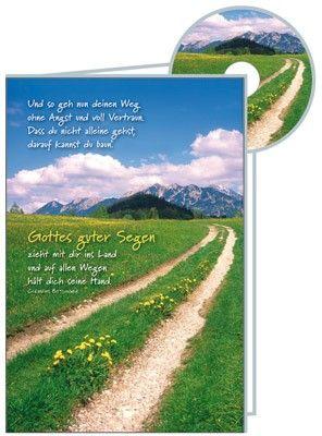 """CD-Karte - """"Und so geh nun Deinen Weg"""""""